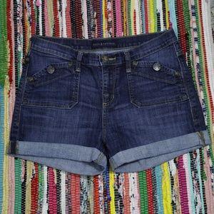 Rock & Republic Blue Denim Jean Shorts